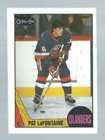 VINTAGE O-PEE-CHEE PAT LaFONTAINE NEW YORK ISLANDERS CARD