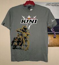 Kini Red Bull T-Shirt Riders Grau grey Gr. L MX Enduro neu