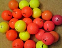 20 Nike PD Long Coloured Golf Balls Pearl/A Grade