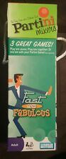 Partini Game Mixer Fast & Fabulous drinking game Parker Brothers Free shipping