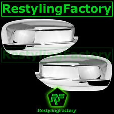2011-2014 Dodge Charger Triple Chrome Plated Full Mirror Cover w/Turn Light hole