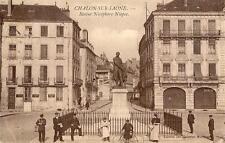 CHALON SUR SAÔNE Statue Nicephore Niepce (animée)