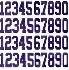 Replica Mini Sized Helmet Number Number Decals for New England Patriots Helmets