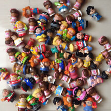 Randomly Styles 10pcs/lot Fisher Little People and Animal Mini Figures