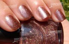 Avon bronze glitter brown nail polish