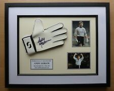 Andy Goram Signed & Framed Rangers Glove Career Display (16552)