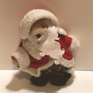 "Muffy Vanderbear 8"" Tall - Santa North Pole Collection Jointed Bear Stuffed"