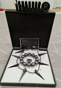 Marvel Black Panther Collector Replica Set - Kimoyo Beads and Tchalla Necklace