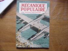 MECANIQUE POPULAIRE sciences et techniques pour tous SOMMAIRE EN PHOTO n° 42