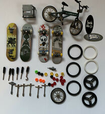 Mixed Lot Tech Deck Finger Skateboards & Bike Wheels and Tools Used Blind Bucky
