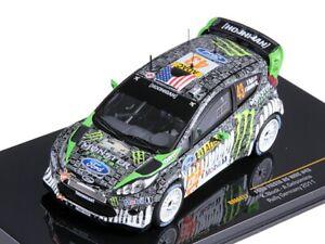 IXO 1/43 Diecast Ford Fiesta RS WRC #43 Rally Germany 2011 KEN BLOCK *RARE*