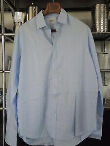 Charles Tyrwhitt Hemd blau 44/91 classic fit Non iron