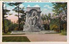 (pxb) Princeton NJ: Monument Commemorating The Battle o