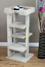 "4 LEVEL, 46"" TALL CAT TREE - *FREE SHIPPING IN THE UNITED STATES*"