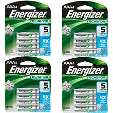 Energizer AAA Rechargeable Batteries 4 Pack, 4 Count = 16 Batteries