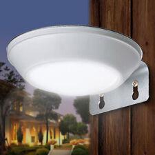 Solar Power Microwave Radar Sensor PIR Motion 16 LED Light Garden Patio Superbri