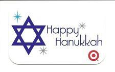 Target Happy Hanukkah 2012 Gift Card No $ Value Collectible #1864