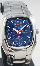 Casio EF315D-2A Mens Edifice Blue Analog Watch Steel 10 Year Battery 100M New