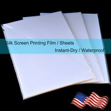 8.5x11,Waterproof Inkjet Screen Printing Transparency Film for EPSON,50 sheets