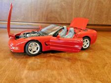 Burago BU12038RD Chevrolet CORVETTE 1997 BLUE 1:18 MODELLINO D