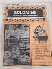 OCTOBER 1978 GOLDMINE THE RECORD COLLECTOR'S MAGAZINE RHYTHM & BLUES