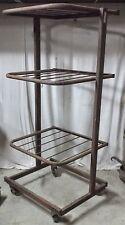 ancien présentoir métal marque toutentub mobilier industriel atelier loft tubula