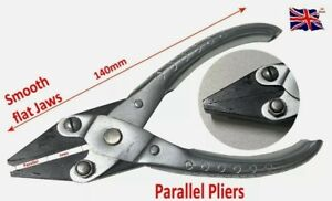 Parallel Action Pliers 140mm Flat Smooth Jewellery Craft Wire Making Tool Watchs