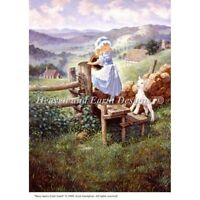 Heaven and Earth Designs Cross Stitch Chart Fairy Tales MARY HAD A LITTLE LAMB