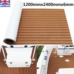 240x120cm EVA Teak Decking Adhesive Foam Faux Sheet Boat Marine Yacht Floor Mat
