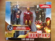 Marvel IRON MAN 3 Titan Hero Series Super Hero Collection 3 Pack brand new