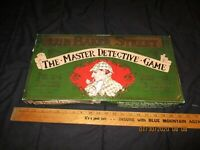 GIBSON GAMES 221B BAKER STREET , THE MASTER DETECTIVE GAME - COMPLETE IN GOOD SH