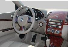 2005 2006 INTERIOR BURL WOOD DASH TRIM KIT SET FOR NISSAN ALTIMA 3.5 2.5 S SE SL