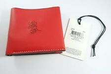 New listing Disney X Coach Mickey Mouse Double billfold wallet Red with Gift Box Limited