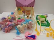 my little pony Vintage g1 Show Stable lot. Lot Of Extras!!!! 1980's