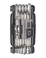 Crankbrothers M17 Bike Multi-Tool (Midnight Black), 17 Functions, Lightweight