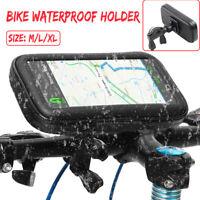 Étanche Cas Sac Housse Tactile Support Téléphone GPS Scooter Moto Vélo M/L/XL