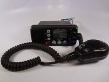 Icom IC-M304 Submersible Marine VHF Radio Transceiver Unit W/ HM-164B Hand Mic
