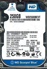 Western Digital WD2500BEVT-00EGHT0 DCM: HHCTJHBB 250GB