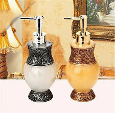 New 3D Soap Dispenser Gold Silver Pump Sculptured Resin Sanitizer Bottles 300ML