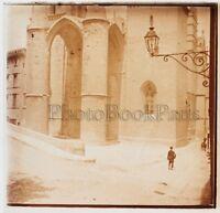 Montpellier Cattedrale Placca Da Lente Stereo Positivo Vintage
