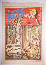 Atze 10/1956 Originale DDR Fumetti! (H8