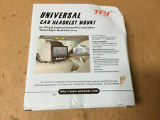"""Universal Car Headrest Mount Holder, Fits ALL 7 to 11"""" Tablets - iPad Galaxy"""