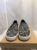 Sam Edelman Becker Slip-On Black White Woven Fashion Sneakers Size: 8.5 M