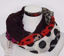 CODELLO Damen Schal im Muster-Mix 52073809-01 schwarz bunt NEU