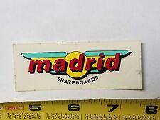 VTG 80's JERRY MADRID PRO DESIGNS BB NOS OLD SCHOOL RARE SKATEBOARD DECK STICKER