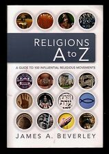 Religions A to Z:  Guide to 100 Influential Religious Movements - NEW - MINT  SC