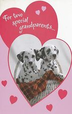 """Greeting Card - Valentine's Day - """"SPECIAL GRANDPARENTS..."""" - by AGC"""