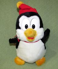 """Vintage 1989 CHILLY WILLY PENGUIN Plush 11"""" Woody Woodpecker Walter Lantz Animal"""