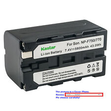 Kastar Battery LED Fast Charger for Sony NP-F750 CCD-TRV517 CCD-TRV54 CCD-TRV55