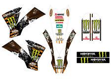 KTM GRAFICHE STICKERS MONSTER EXC SX 2003 2004 2005 2006 2007